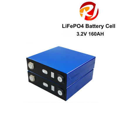 Free Maintenance 3.2 Volt 160AH Lifepo4 Battery Cells Long Cycle For House PV Solar Energy Storage