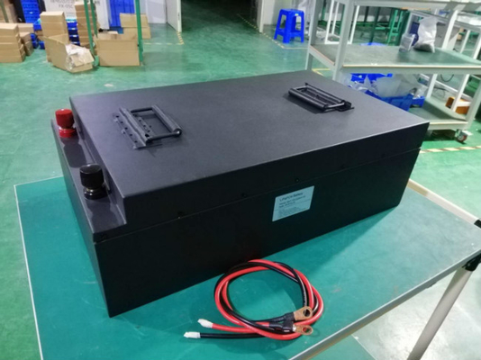 High DisCharge 72 Volt 120Ah LiFePO4 Battery For Electric Forklift Car Conversion