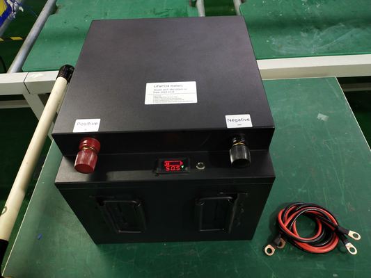 China 48V 100ah Golf Cart Battery Solar Power Battery Electric Boat Yacht Lithium Battery factory