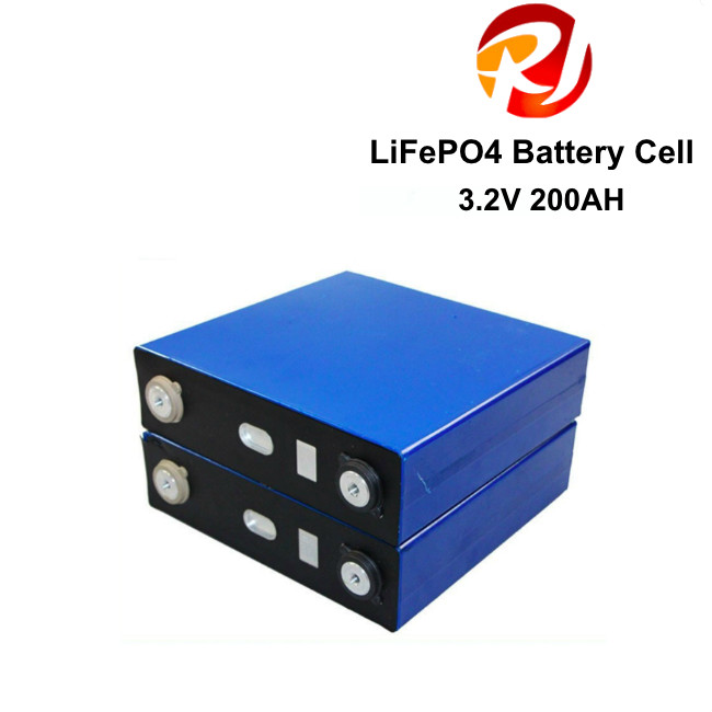 Portable 3.2 Volt 200AH Lifepo4 Battery Cells Li-ion LFP Battery For Home Energy Storage