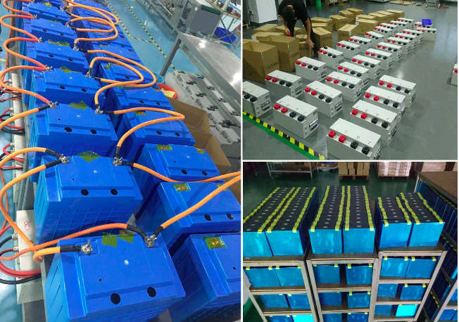 24V120AH LiFePO4 Battery Lithium Iron Phosphate Battery Bank for Marine Electric Boat Ship Solar Energy