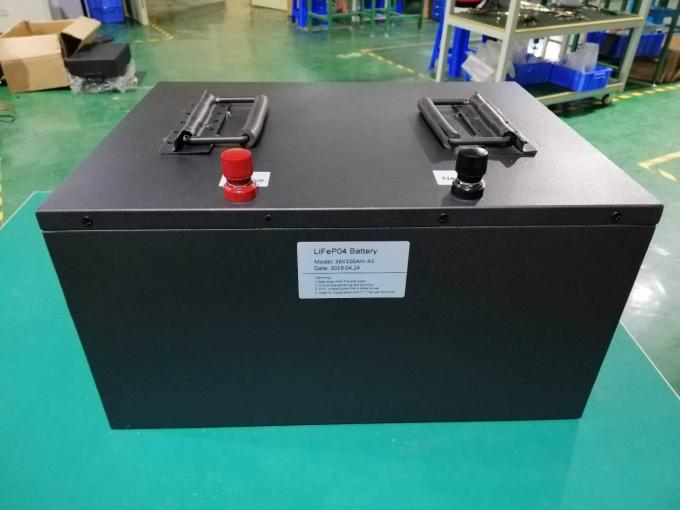 36V 100Ah Customized LFP Battery LiFePO4 with BMS For Golf Car AGV Forklift Battery